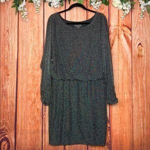 Jessica Howard Ruched Midi Evening Dress